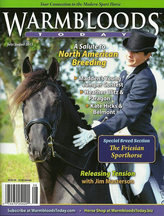 Friesian Sporthorse feature article